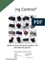 20091217 Onderzoeksopzet Gamecontrol
