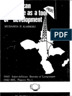 the african language as a tool of development.pdf