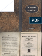Manual Del Tornero