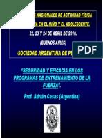 CASAS Entrenamiento de fuerza en niños y jovenes.pdf