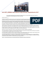"""07-10-2014  Inicia SSP y SEDENA etapa intensiva Canje de Armas """"Despistolización 2014""""."""