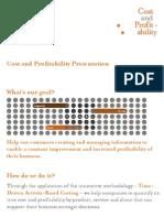 Cost and Profitability Presentation 2014