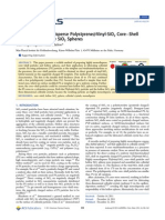 Synthesis of Monodisperse Polystyrene@Vinyl-SiO2 Core–Shell Particles and Hollow SiO2 Spheres