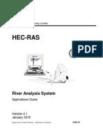 Guía de aplicaciones de HEC-RAS 4.1