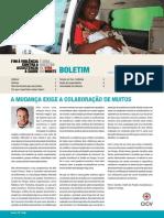Boletim Assistência à Saúde em Perigo, nº 1