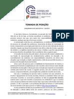 conselho de escolas 2014_tomada de posição, lançamento do ano lectivo 2014 - 2015 [07 out].pdf