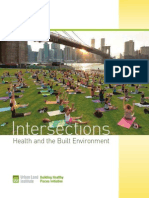 Intersections Health and the Built Environment