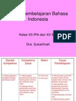 Materi Pembelajaran Bahasa Indonesia