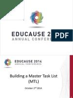 Building a Master Task List (242316348)