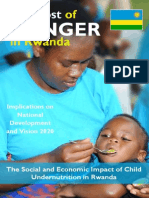 Rwanda Cost of Hunger Report