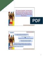Comunicación El acoso escolar protocolos de intervención en los centros educativos de Castilla y León. Actuaciones de la Inspección -1.pdf