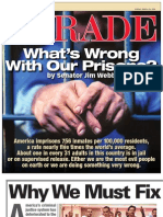 "PARADE Magazine cover story, ""What's Wrong with our Prisons?"" Senator Jim Webb, Sunday March 29, 2009"