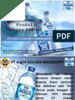 Proses Produksi Aqua 600 Ml