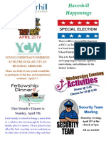 Monthly Newsletter