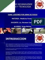 UCYT Exposicion Lesiones por Arma de Fuego.ppt
