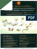 Simpósio sobre o Centenário da Descoberta da Doença de Chagas