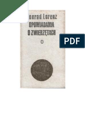 Konrad Lorenz Opowiadania O Zwierzętach 1975 Zorg