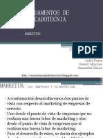 FUNDAMENTOS DE MERCADOTECNIA