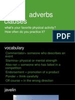 ao6 unit 18  adverbs clauses