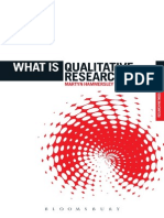 Martyn Hammersley - What is Qualitative Research [2012][a]