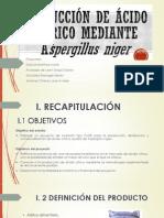 Producción de ácido cítrico mediante Aspergillus niger Terce P (A) (1).pptx
