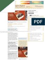 La familia en la Biblia una historia pendiente - Libros - Religión Digital.pdf