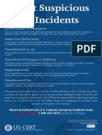 Stop Think Connect Report Cyber Incidents Poster