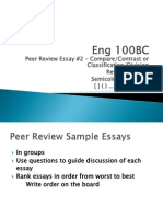 TuesdayEng100BC Reviewquiz2 Semicolonscolons Otherpunct PeerReviewEssay2