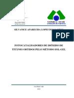Fotocatalise e Tio2