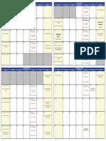Kicker's 2014 Fall Club Calendar