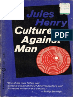 Culture Against Man - Jules Henry