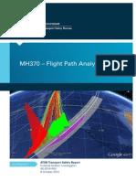 MH370 Flight Path Analysis