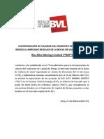 RIO_PR120222 Cambio Segmento Rio Alto Mining