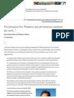 """Psicoterapias hoy """"Palabras que permanecen, palabras por venir…"""" _ Letra Urbana.pdf"""