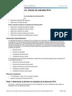 9.1.4.8 Lab - Calculating IPv4 Subnets.docx