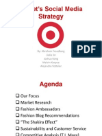 Target's Social Media Strategy Presentation