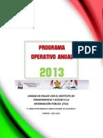 Plan Operativo Anual ITAI