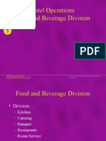 4692173 Hotel Operations Food and Beverage Division