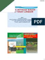 Mitigasi Banjir Dan Tanah Longsor