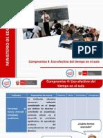 PPT Compromiso 4 - Uso del tiempo en el aula.ppt
