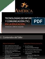 TIC en Educacion.ppt