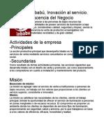 Tabajo empresa carmen.doc