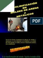 3.SOLIDIFICACIÓN EN MOLDES DE ARENA-CLASE 3.ppt