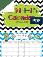 October 14 i Xl Calendar
