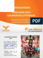 Concurso Calaveritas Literarias 2014