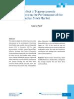 06 Effect Macroeco Performance Indian Stock Market