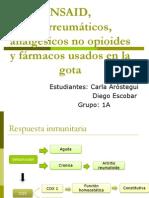 NSAID, antirreumáticos, analgésicos no opioides y.pptx