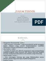 KAEDAH & TEKNIK.pptx