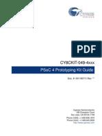CY8CKIT-049-4xxx PSoC 4 Prototyping Kit Guide.pdf