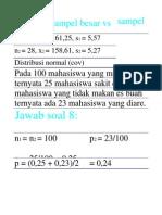 Statistik ParaMeTrik Gizi